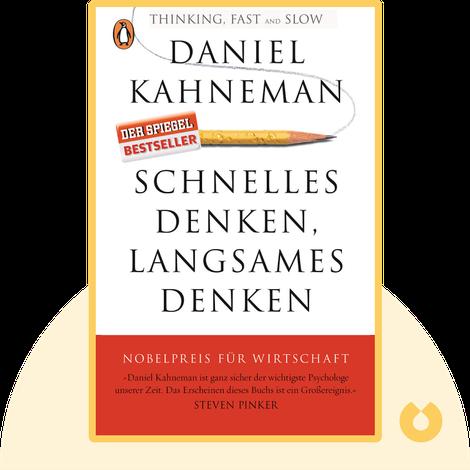 Schnelles Denken, langsames Denken von Daniel Kahneman