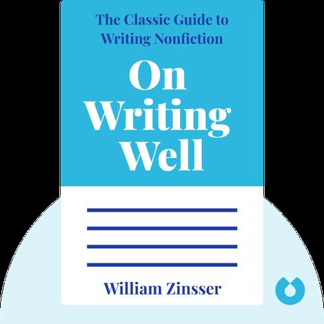 On Writing Well von William Zinsser
