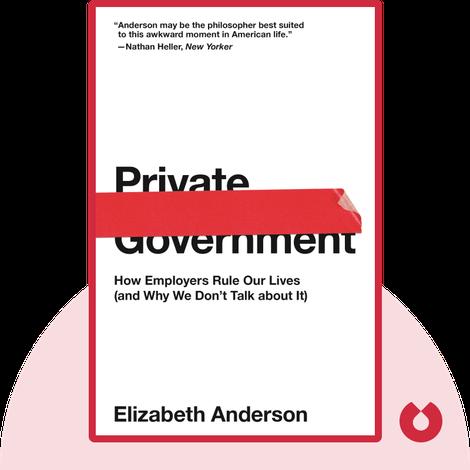 Private Government von Elizabeth Anderson