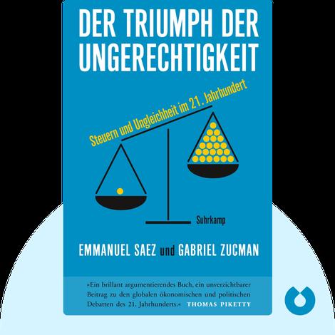 Der Triumph der Ungerechtigkeit von Emmanuel Saez & Gabriel Zucman
