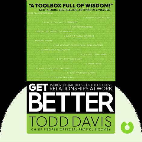 Get Better von Todd Davis