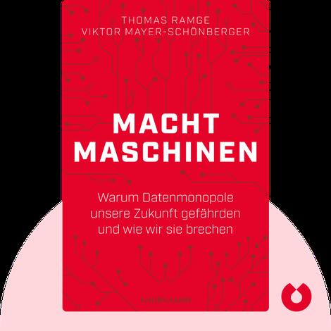 Machtmaschinen von Thomas Ramge & Viktor Mayer-Schönberger
