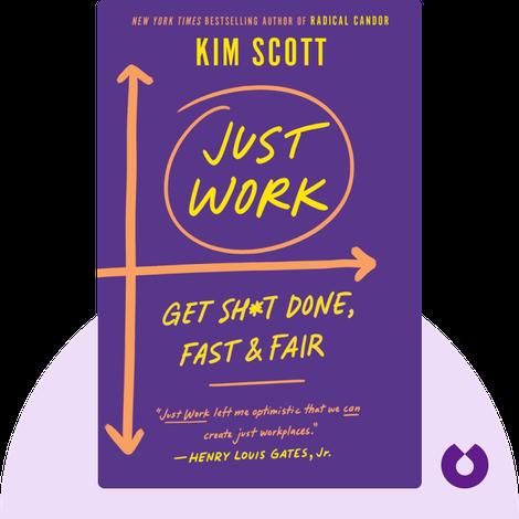 Just Work von Kim Scott