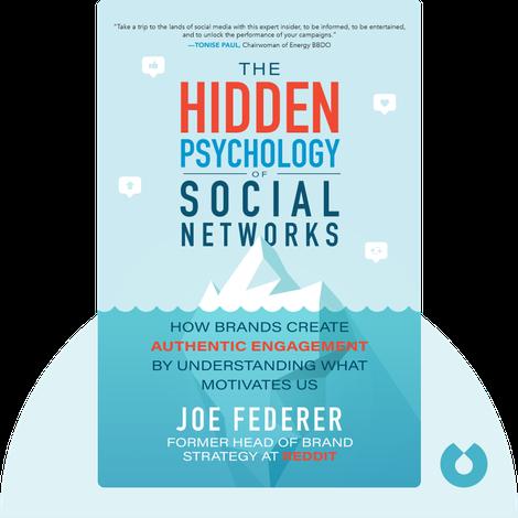 The Hidden Psychology of Social Networks von Joe Federer