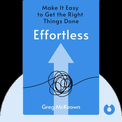 Effortless by Greg McKeown