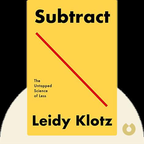 Subtract von Leidy Klotz
