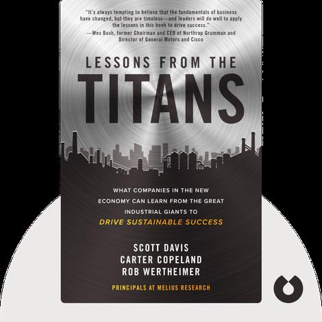 Lessons from the Titans von Scott Davis