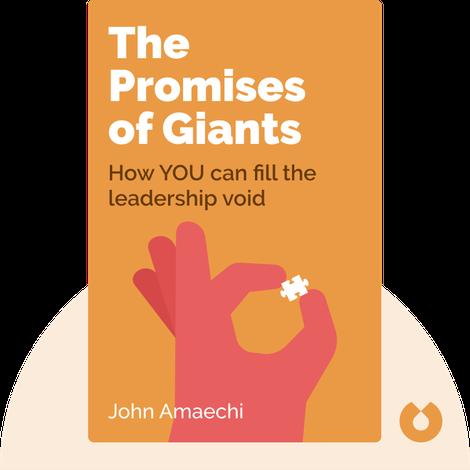 The Promises of Giants von John Amaechi