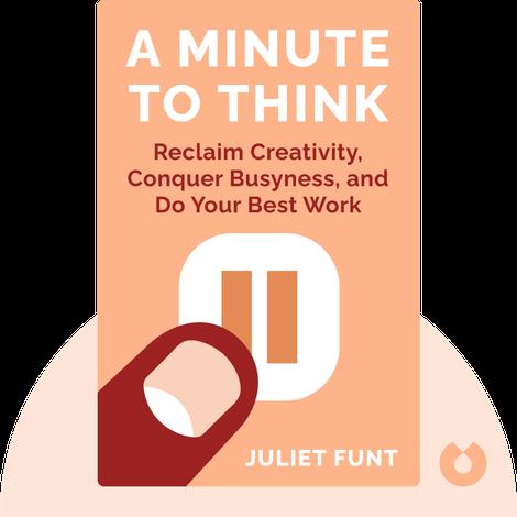 A Minute to Think von Juliet Funt