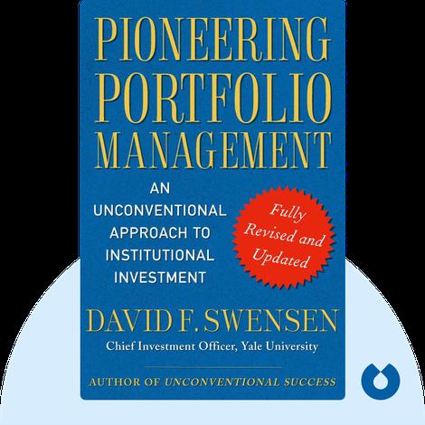 Pioneering Portfolio Management von David F. Swensen