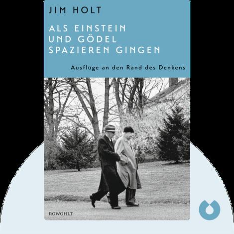 Als Einstein und Gödel spazieren gingen von Jim Holt