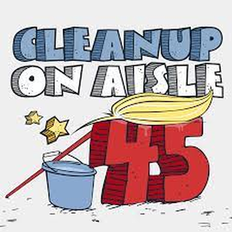Welcome Clean Up on Aisle 45 Fans!